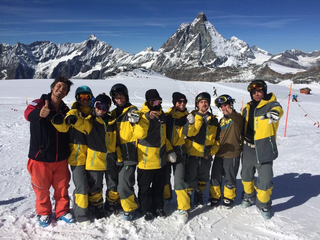 Équipe du Québec à Zermatt