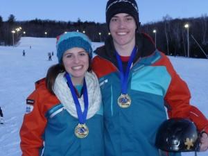 Joelle Boivin et François Leclerc, Provincial Olympia Fevrier 2013