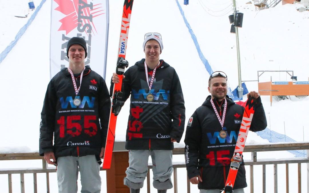 Trois Canadiens sur le podium au Championnat canadien ouvert de saut