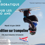 Audition ski acro