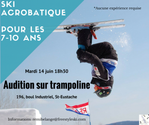 Audition ski acro